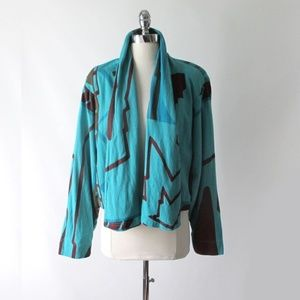 Vintage 80's Michele Lamy Origami Swing Jacket